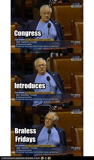 Congress Introduces Braless Fridays