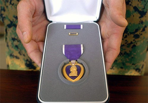 Heartbreaking Human Inter purple heart Support Our Troops - 5596912896