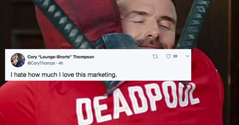 twitter deadpool David Beckham roast superheroes ryan reynolds funny - 5596933
