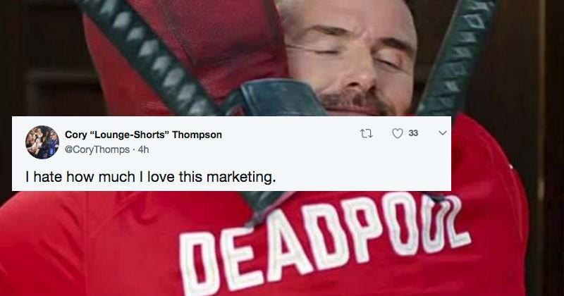 twitter deadpool David Beckham roast superheroes ryan reynolds funny - 5596933