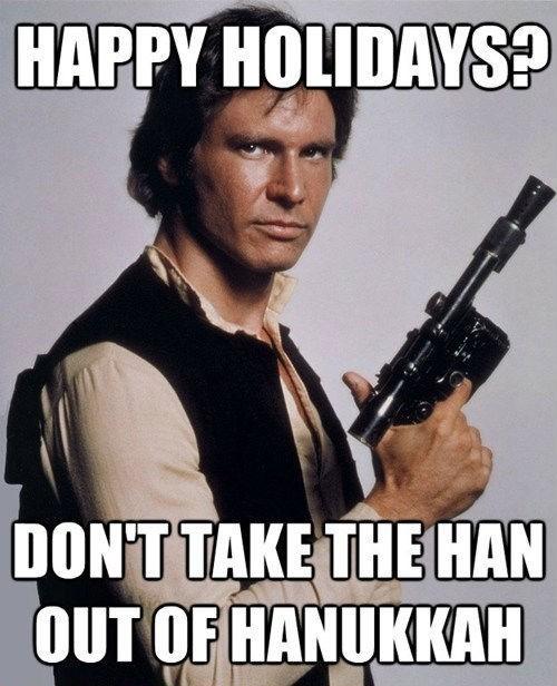 Han Solo hanukkah star wars - 5596985344