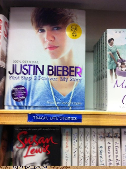 book justin bieber tragic life stories - 5596992512