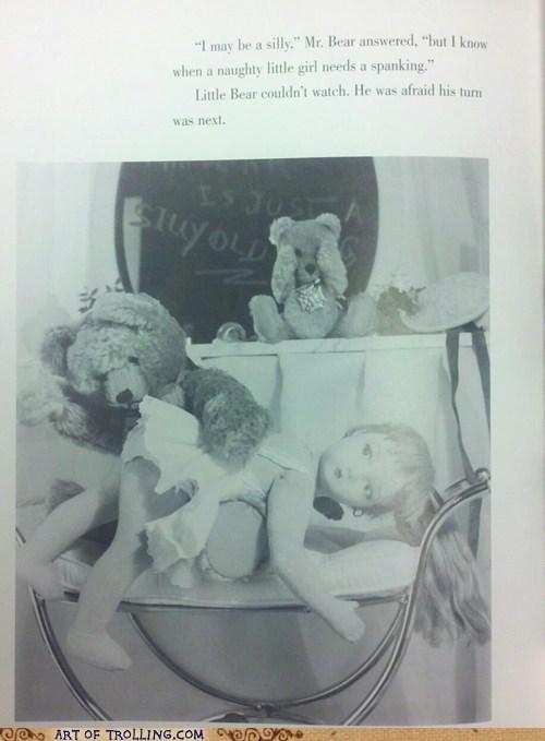 book,IRL,naughty,pedobear,spanking