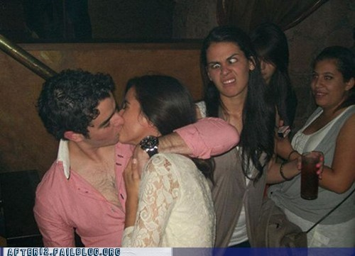 club drunk jealous making out photobomb that face woo girls - 5597157376
