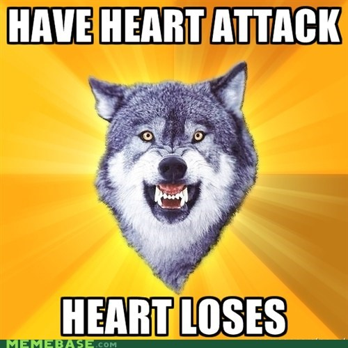 attack Courage Wolf heart loses - 5597387520