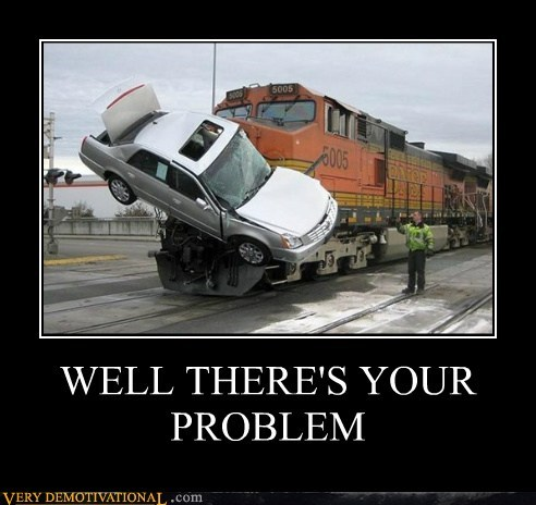 car hilarious problem train - 5597522688