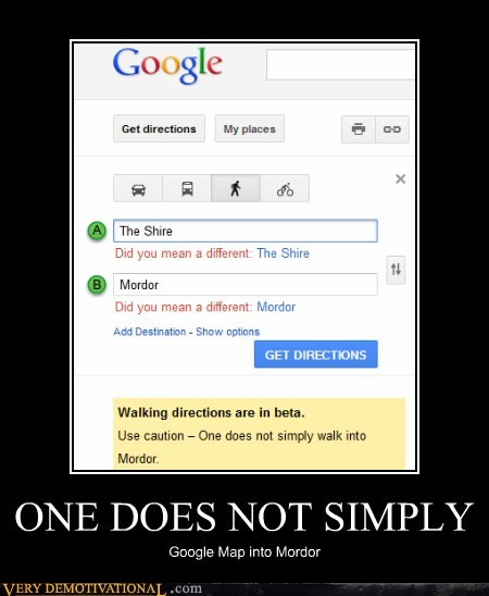 google maps hilarious mordor shire