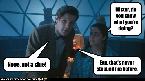 doctor who fun Matt Smith the doctor the widow and the wardrobe - 5597747456