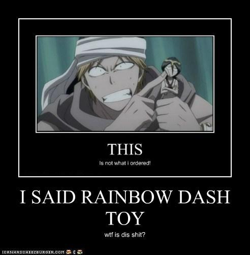 I SAID RAINBOW DASH TOY