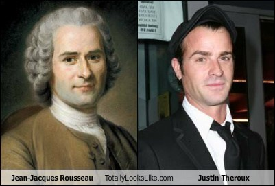 funny jean-jacques rousseau justin theroux TLL - 5598014720