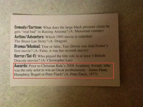 answer batman cards christian bale movies trivia - 5598099712