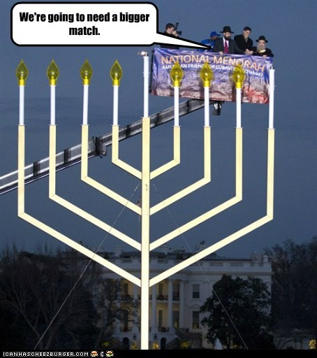 hanukkah menorah political pictures - 5598264320