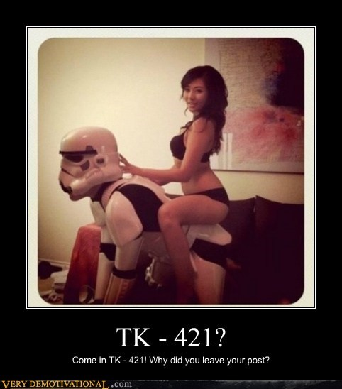 cosplay hilarious Sexy Ladies star wars tk-421 wtf - 5598301952
