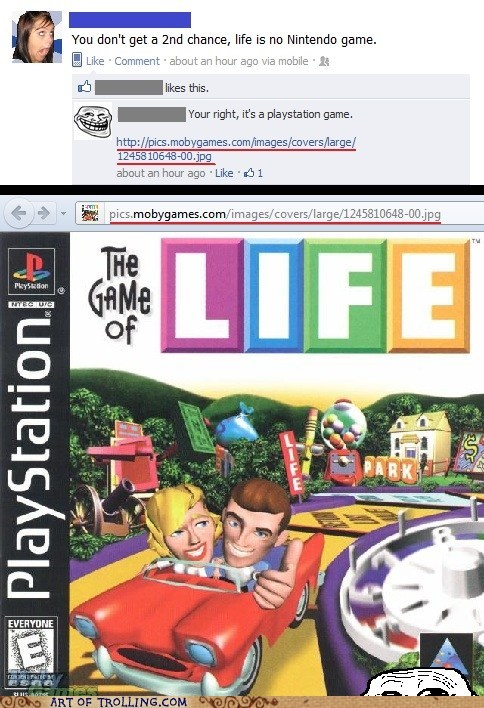 facebook life owned the game - 5598730752