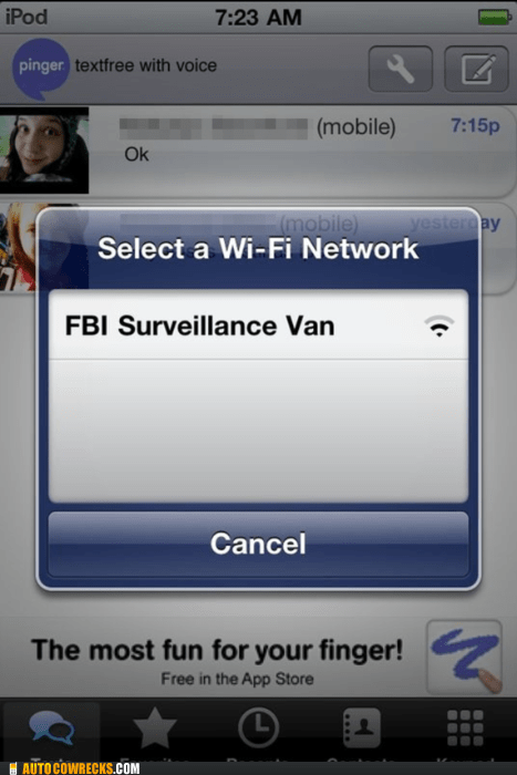 FBI Hall of Fame network wi-fi - 5599407104