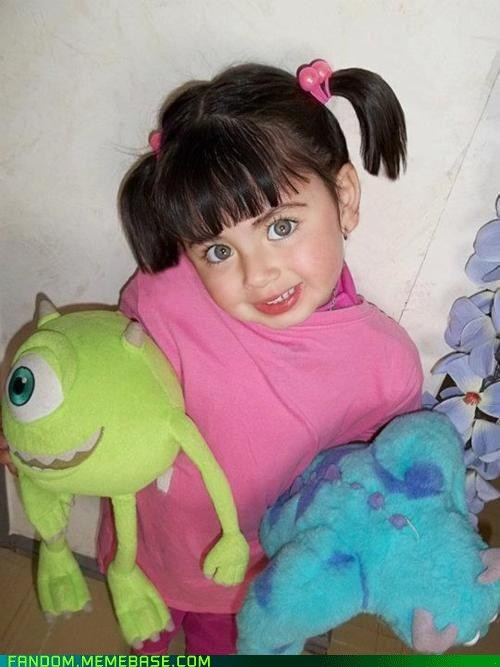 boo,cosplay,cute,kids,monsters inc