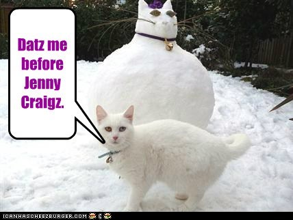 after before best of the week caption captioned cat diet jenny craig me resemblance snowman that - 5599956992
