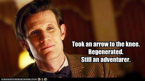 adventurer arrow in the knee doctor who Matt Smith the doctor - 5600029952