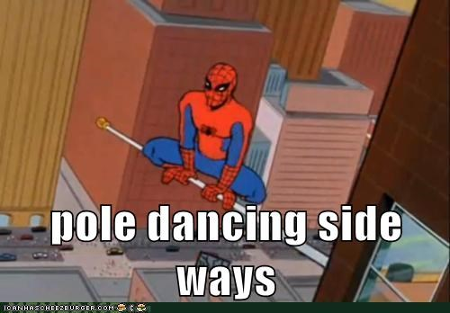 pole dancing Spider-Man Super-Lols - 5600045056