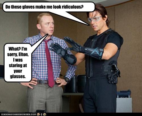 actor celeb funny Simon Pegg Tom Cruise - 5600359936