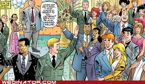 Archie Comics comics books funny wedding photos gay wedding geek - 5600658176