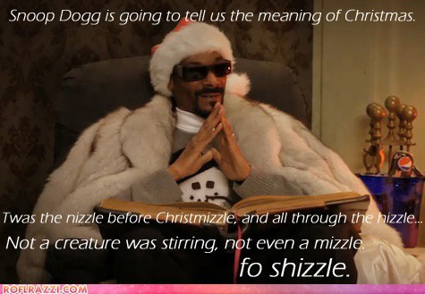 celeb,christmas,funny,holiday,Music,rap,snoop dogg