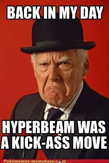 back in my day genwunner hyperbeam meme Memes normal type recharge - 5600917760
