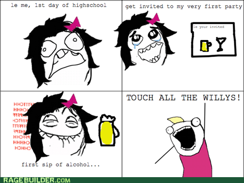 all the guy,booze,Rage Comics,willies