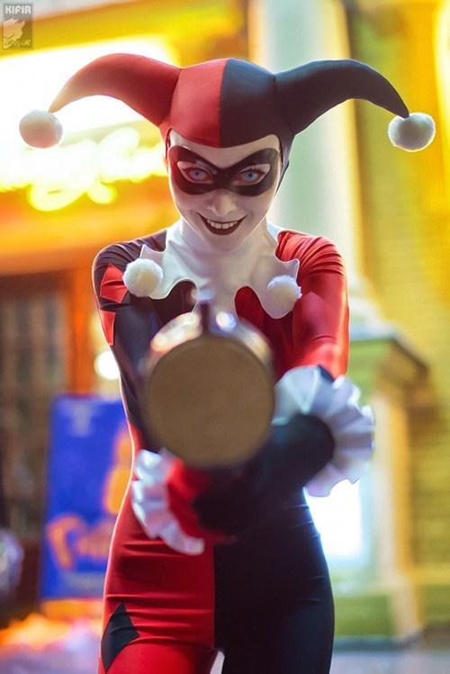 cosplay,cosplay corner,Harley Quinn