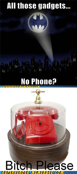 Bat signal batman phone red Super-Lols - 5601465856