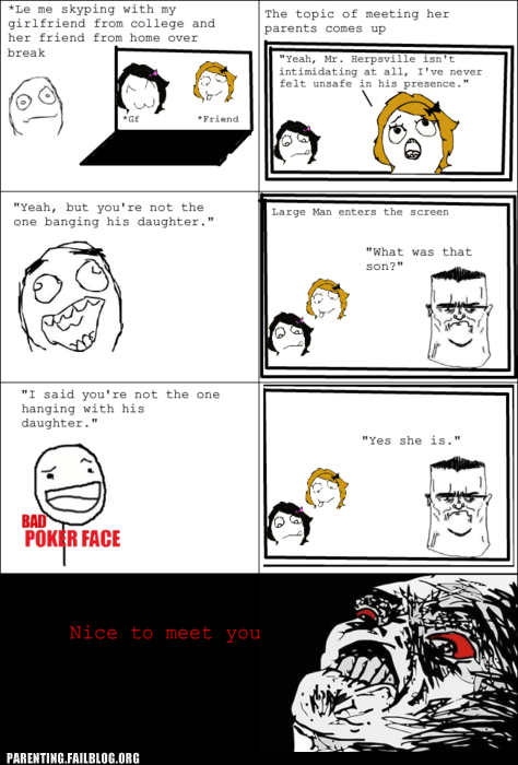 dad dating meet the parents Parenting Fail rage comic relationships whoops - 5601579776