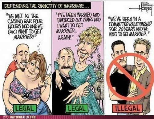 david horsey,gay marriage,LGBT rights,political cartoon