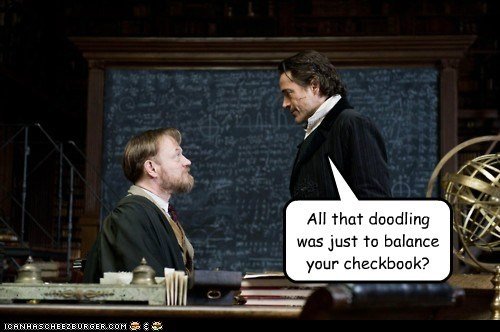 balance checkbook jared harris math professor moriarty robert downy jr sherlock-movie sherlock holmes - 5602650112