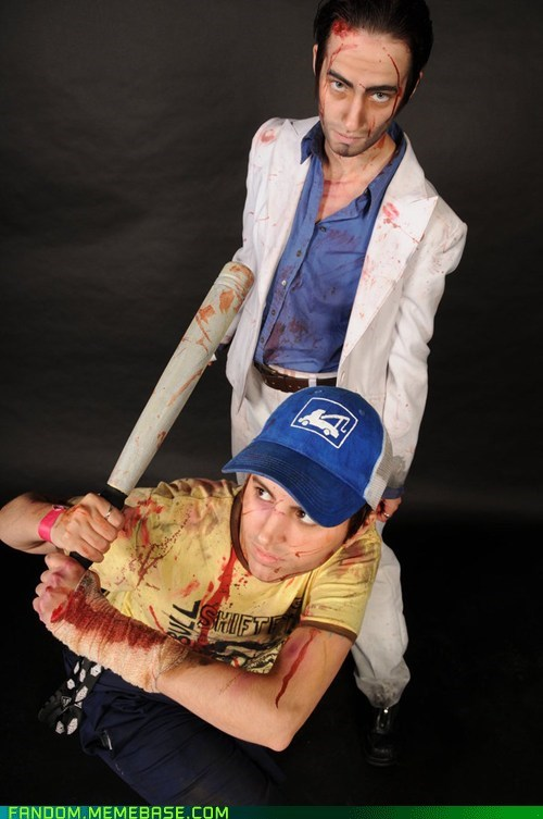 cosplay,ellis,left 4 dead 2,nick,video games
