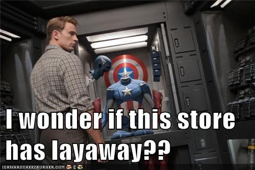 captain america,costume,lay away,Super-Lols