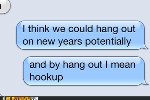 New year eve hook up