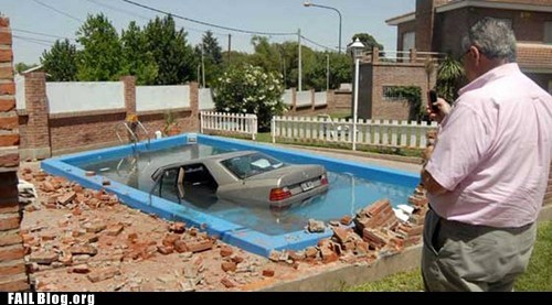 diving,driving,parking,pool