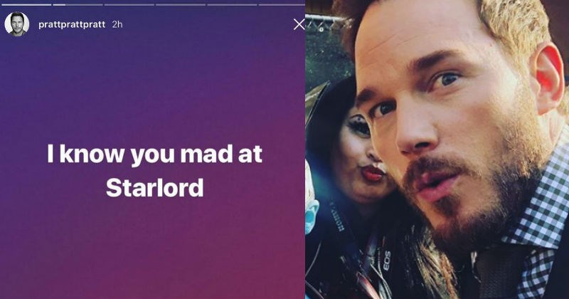 marvel starlord guardians of the galaxy instagram social media superheroes chris pratt funny - 5603845