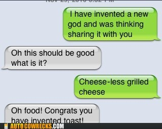 food grilled cheese invention toast ur a genius - 5604235520