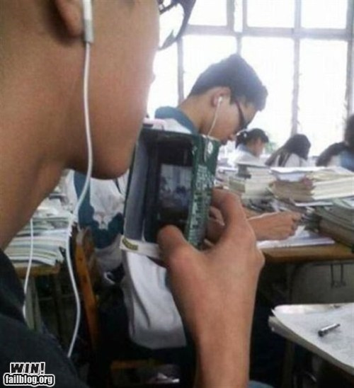 camera camera phone cheating clever education school test - 5604455168