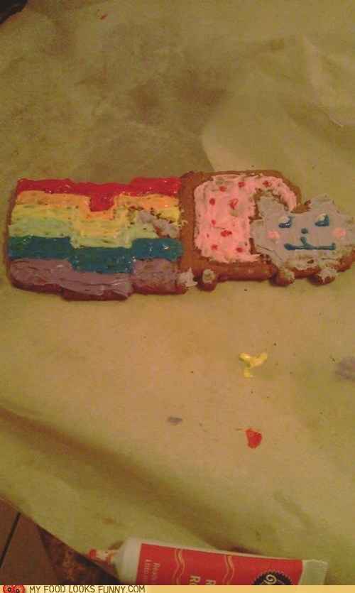 gingerbread,holidays,Memes,Nyan Cat