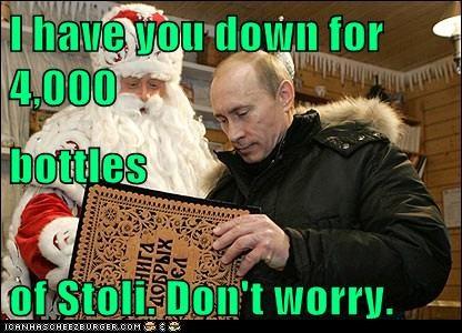christmas political pictures santa Vladimir Putin - 5604645632