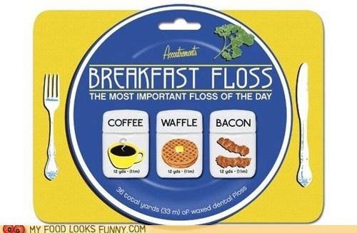 breakfast coffee dental floss flavored floss - 5604689152