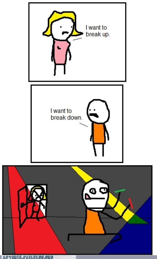 breakup comic dubstep glowstick rave - 5604753920