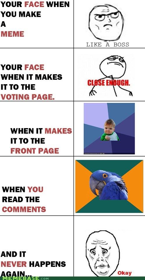 Close Enough Like a Boss making memes Memes Okay Paranoid Parrot Rage Comics - 5604816640