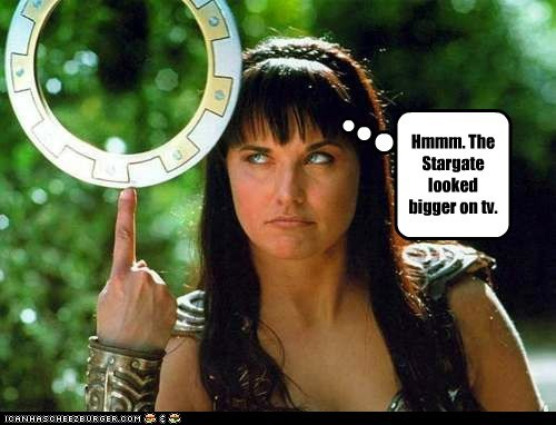 bigger gate Lucy Lawless star TV Xena Xena Warrior Princess - 5605103104