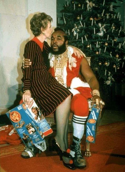 80s,celeb,mr t,retro,santa