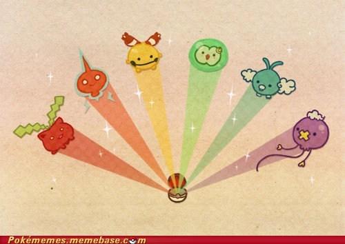 art cute rainbows - 5605206784