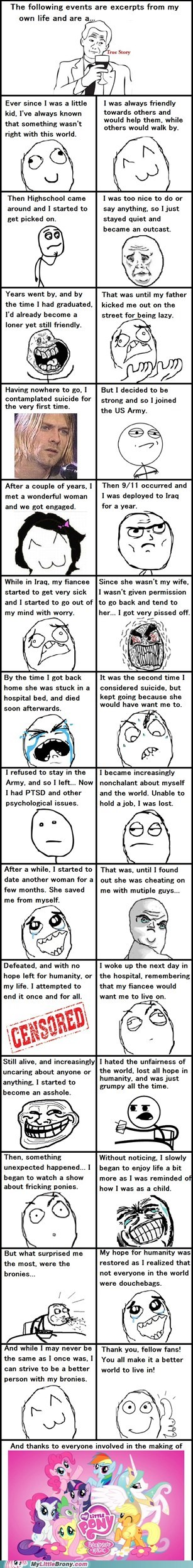 best of week everypony rage comic Rage Comics thank you true story - 5605352192