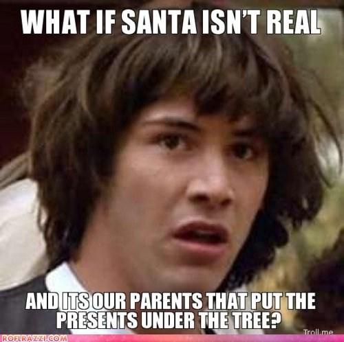 christmas conspiracy keanu funny holiday keanu reeves meme - 5605358336